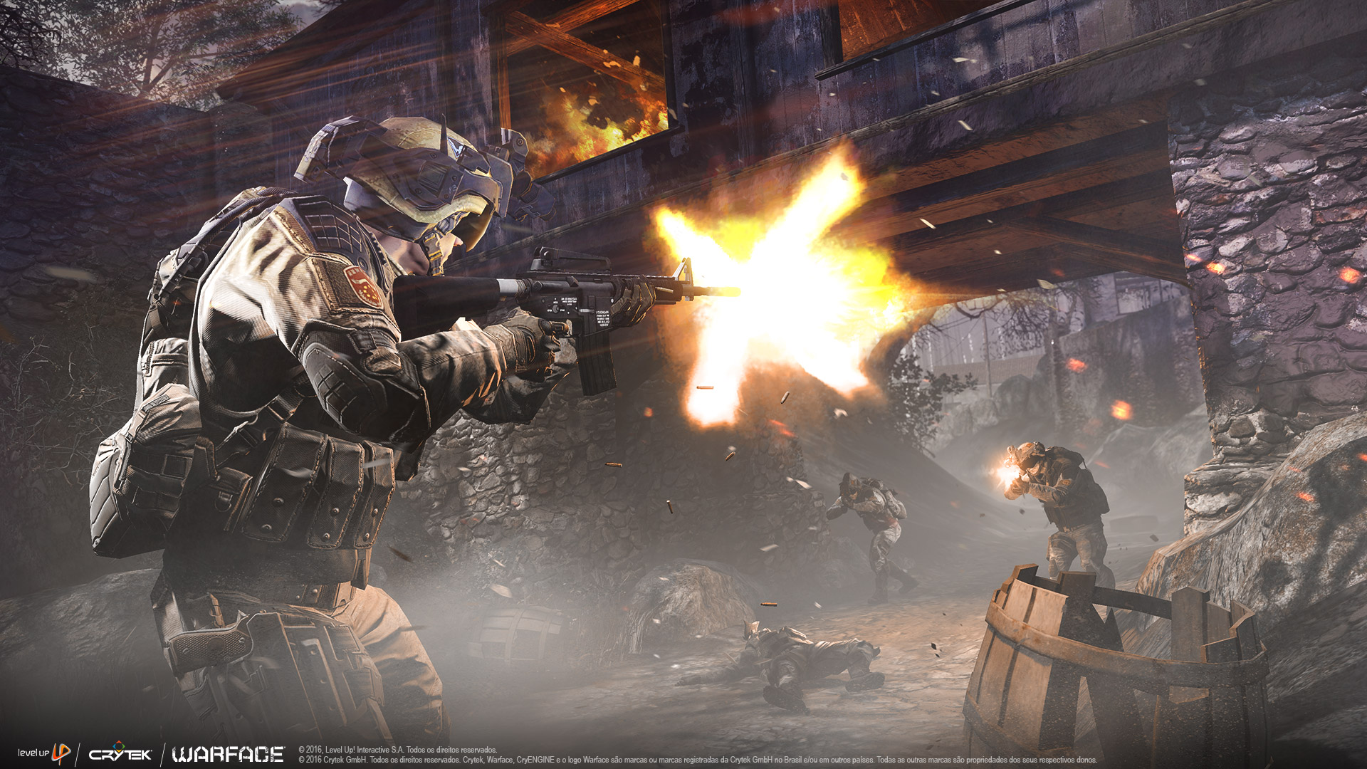 Wallpapers - Warface - FPS Online